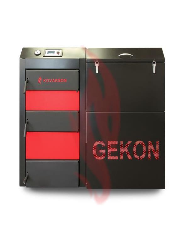 Automatický kotel na uhlí a pelety Kovarson Gekon 20 KW Kotlíková dotace