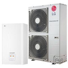 Tepelné čerpadlo LG Therma V Split k 16 kW 3f