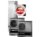 Tepelné čerpadlo NIBE F2040-8 vzduch-voda 8 kW