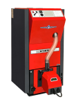 Atmos kompaktní automatický kotel na pelety o výkonu 15 kW