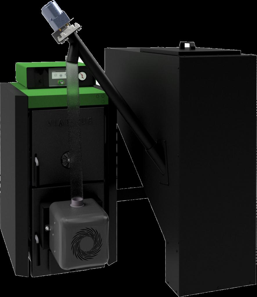 Automatický kotel na pelety VIADRUS A0C-LP
