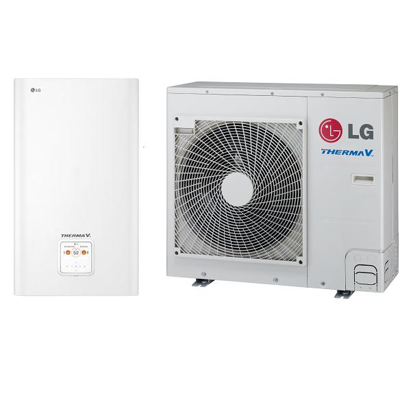 Tepelné čerpadlo LG Therma V Split k 9 kW 1f, nejnovější model