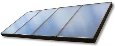 Velkoplošný solární kolektor SUNTIME 2.4 PROPULS SOLAR