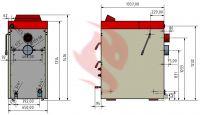 Zplynovací kotel na dřevo Kovarson Makak 20 kW,40kW