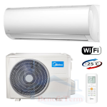 MIDEA Blanc II. 2,6 kW s Wi-Fi